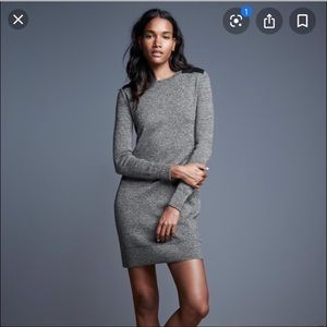 GAP MERINO WOOL PATCHWORK DRESS